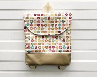 Donut Tiny Pack - Small Backpack - Toddler Backpack - Tiny Backpack - Toddler Bag - Backpack - Toddler Purse - Kid Backpack