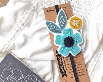 BIRTHDAY SALE Unique Bookmark - Mother's Day Gift - Teacher Gift - Flower Bookmark - Book Lover Gift - Gift for Bookworm - Reader Gift