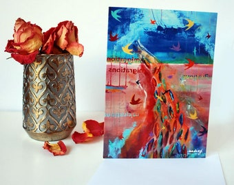 5x7 Migrations Greeting Card
