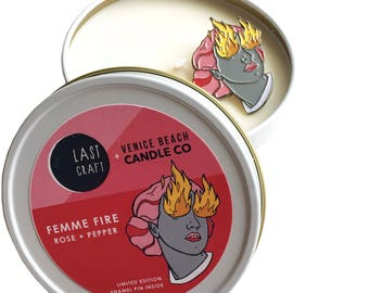 LASTCRAFT x VBCC Femme Fire Candle - Limited Edition