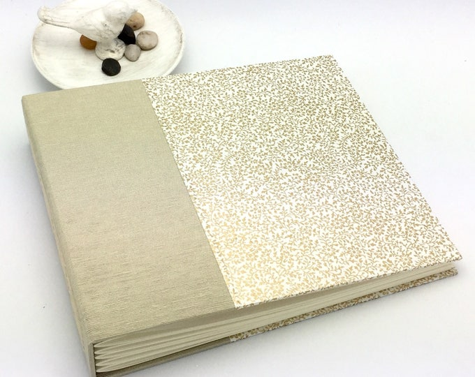 Gold Floral Photo Album - Made to Order - multiple options available