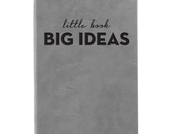 Leather Journal-Little Book Big Ideas 31673