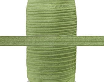"Willow - 100 Yard Roll - Fold Over Elastic - 5/8"" Wide Bulk Wholesale FOE"