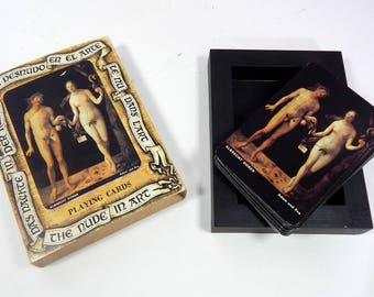 Vintage Spanish Playing Cards 'The Nude in Art'