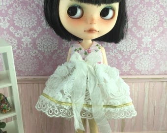 Blythe Garden of Roses Dress - Pink and White