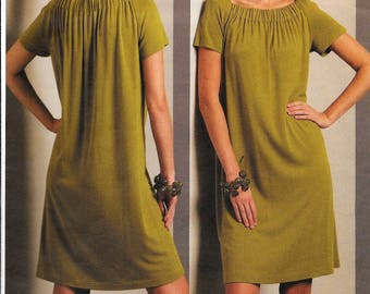 Vogue V1091 Tom and Linda Platt Dress Tunic Sewing Pattern 1091 UNCUT Plus Size 18, 20, 22, 24
