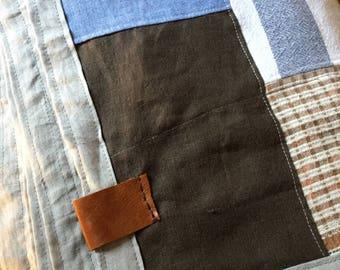 Handmade quilt/wrap
