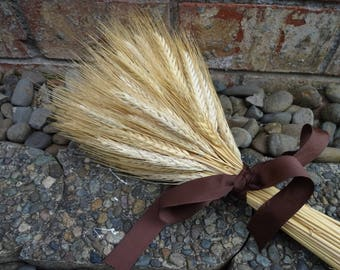 Wheat Bouquet   Dried Wheat  Rustic Wedding  Wedding Bouquet  Autumn Decor  Fall Wedding Wheat
