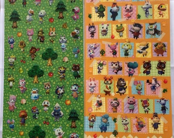 Animal Crossing Sticker 2 bags set about 80 stickers