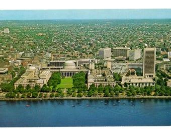 MASSACHUSETTS INSTITUTE of TECHNOLOGY, Cambridge Massachusetts Vintage Unused Postcard