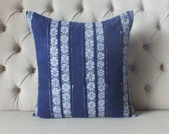 "18""x18"" Vintage Cotton Tribal Handprinted Batik Tribal textiles,Throw Pillow,Decorative cushions,Pillowcases"