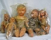 Vintage Baby Dolls Set of Five