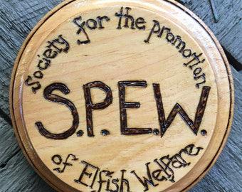 S.P.E.W.  - Handmade Plaque