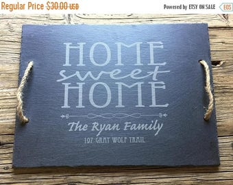 ON SALE Rustic Farmhouse: Slate Cheese Board, Cheese Tray, House Gift, Housewarming Gift, Wedding Gift, Wine and Cheese