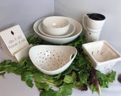 Pick A Piece | Pick A Quote | A Girl Named Spinach | Handmade Ceramics from my Charleston, SC Studio