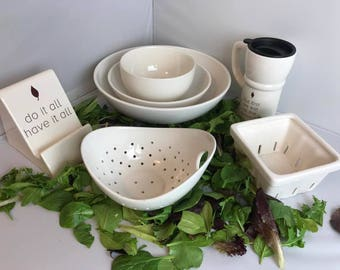Pick A Piece   Pick A Quote   A Girl Named Spinach   Handmade Ceramics from my Charleston, Sc Studio