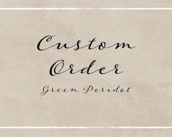 Custom Bridal Listing for Mikaela