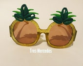 Pineapple sunglasses- Gucci inspired with cowrie shells