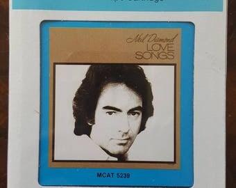 Neil Diamond Love Songs MCAT 5239 New Sealed Vintage 8-Track Tape