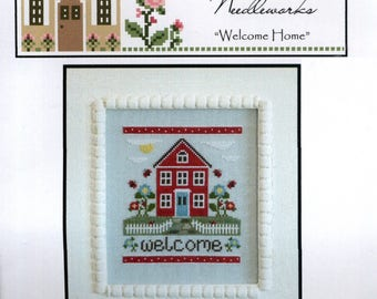 Country Cottage Needlework: Welcome Home - Cross Stitch Kit
