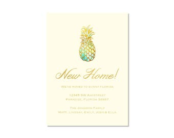 Pineapple New Home Announcement