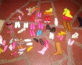 vintage barbie doll ken 23 pairs shoes singles