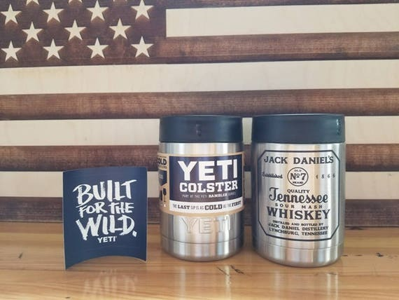 Jack Daniels Whiskey Yeti Colster