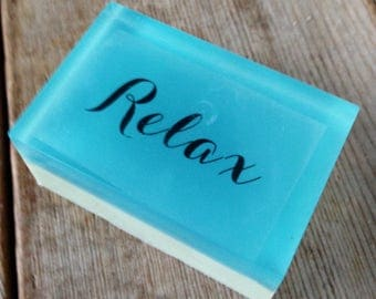 Relax - Shower with a Quote that you love - SLS free - Phthalate free - Favour gifts - Lovely gift - Have fun at bath time