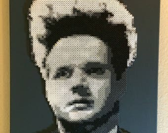 Eraserhead made from beads
