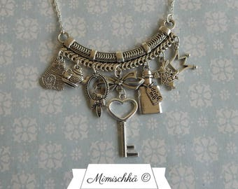 necklace alice in wonderland