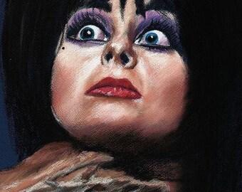 Elvira - Mistress of the Dark - PRINT