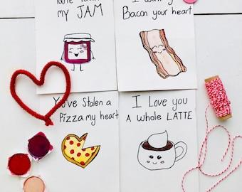 4 pk Valentine's Day cards