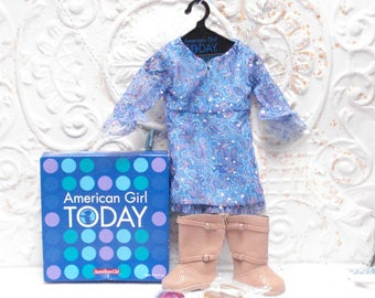 VTG American Girl Today Pleasant Co PAISLEY OUTFIT With Box Nice! 1997 Retired