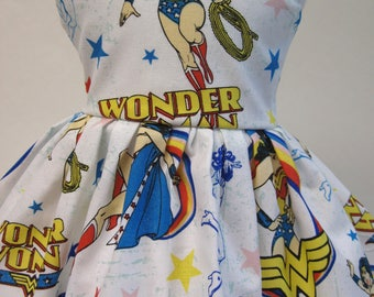 Wonder Woman, Sleeveless Dress for your 18 Inch Doll G