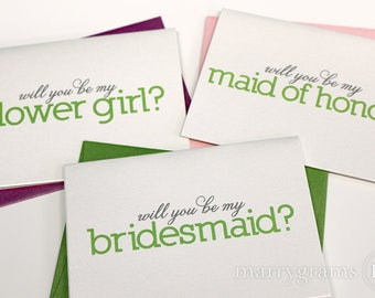 Bridal Party Cards Amp Wedding Day Stationery By Marrygrams