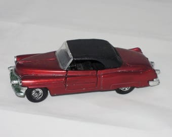 Vintage Metallic Red Toy Convertible