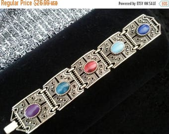 On Sale Vintage Sarah Coventry Bracelet 1960's 1970's Collectible Vintage Jewelry