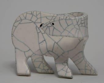 Polar Bear Cub - 1, Hand Built....
