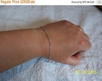 TWICE A YEAR, 25% Off Vintage Links Bracelet. Sterling silver.