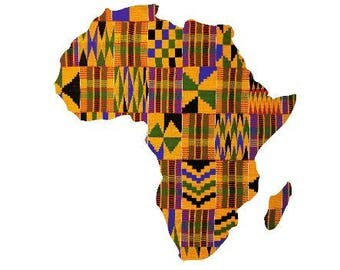 Adhesive Decal Kente Cloth Serengeti Pattern Africa Sticker - Decal For Car, Decal For Yeti, Sticker For Yeti, Sticker For Car