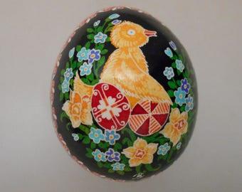Chicken Pysanky Pysanka from Ukraine by Ira