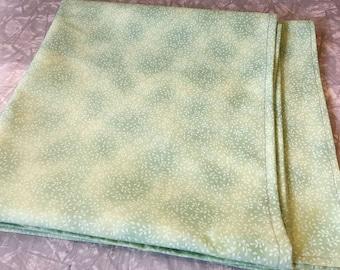 Light Green Tablecloth - altar cloth, tablecloth, spread cloth, shrine decoration, 100% cotton