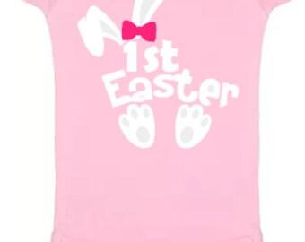 Baby Girls 1st Easter Bodysuit