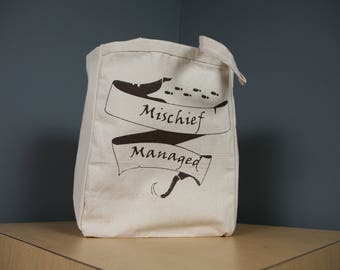 Mischief Managed Tote Bag