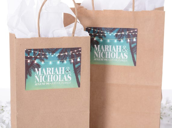 Wedding Welcome Favor Bags 25 Out Of Town Welcome Bags Hotel