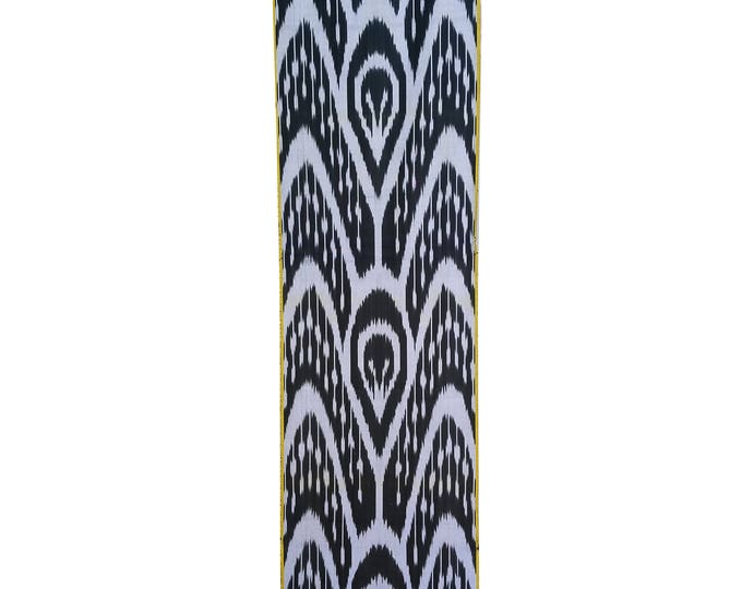 Sale! Ikat Fabric, Ikat Fabric by the yard, Hand Woven Fabric, Cf104