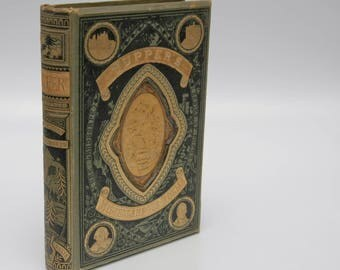 "Pretty Book ""Tupper's Miscellaneous Poems"" c.1883 Gold Gilt Poetry Books"