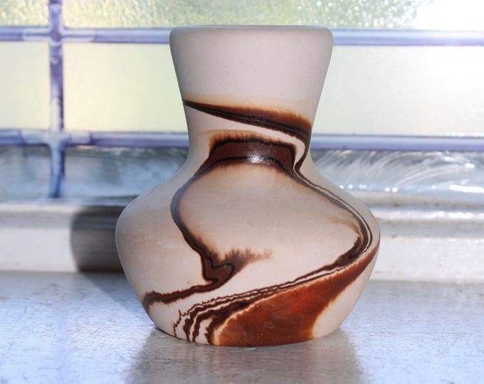 Vintage Nemadji Pottery Vase Southwestern Decor