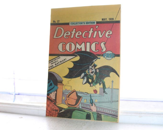 Vintage Detective Comics Book Batman May 1939 #27 Reprint from 1984