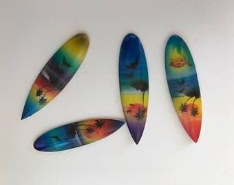 144 Miniature Craft Wood Surfboards